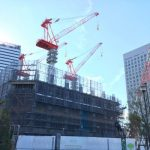 ザ・タワー 横浜北仲 建設状況 2017年12月23日