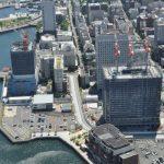 ザ・タワー横浜北仲の建設状況をランドマークタワーの展望台からお伝えします。