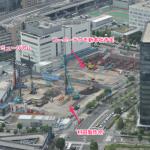 村田製作所とコーエーテクモ本社建設状況