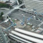 桜木町駅複合ビル建設状況