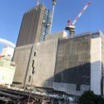 JR横浜タワーの建設状況と完成予想図