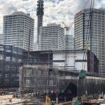 パシフィコ横浜ノースの建設状況