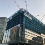 横浜グランゲート建設状況 清水建設が建てる2棟目のオフィスビル