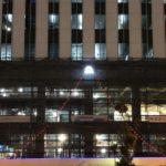 京急本社ビル建設予定地の赤富士