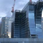 横浜ベイコートクラブとザ・カハラホテル&リゾート建設状況