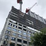ハイアットリージェンシー横浜建設状況