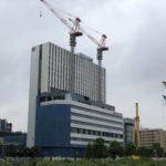 コーエーテクモ本社と東急REIホテルの建設状況をお伝えします。