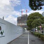 ウェスティンホテルの建設状況