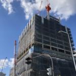 村田製作所みなとみらいイノベーションセンターの建設状況