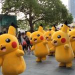 Summer Pikachu festival in Japan