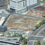 コーエーテクモ本社と村田製作所みなとみらいイノベーションセンター建設状況