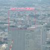 横浜駅西口駅ビルが伸びてきました