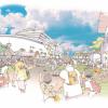 横浜にオリンピック期間中、ホテルシップが出現します