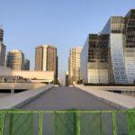 臨港パーク接続道路 ほぼ完成(2020年3月23日更新)