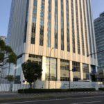 京急新本社ビル建設状況 足場が取り除かれました