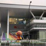 姿を現したアンパンマン!横浜アンパンマンミュージアム
