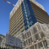 村田製作所みなとみらいイノベーションセンターの建設状況 (2020年1月13日更新)