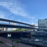 大岡川横断人道橋の概要と建設状況 (2020年6月24日更新)