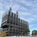 ウェスティンホテルの建設状況(2020年12月29日更新)