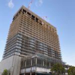 ウェスティンホテルの建設状況(2021年4月19日更新)